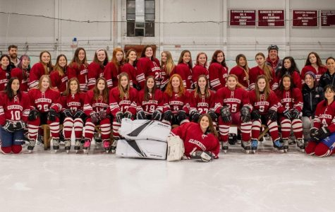 Girls Hockey pummels Pingree in senior night game