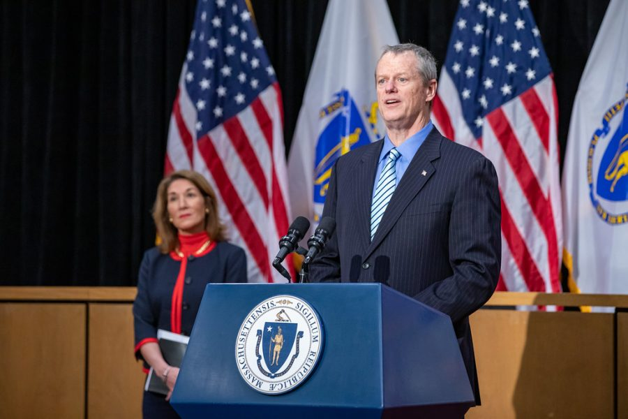 Gov. Baker announces four-phase plan to reopen