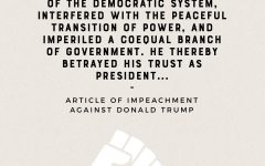 Donald Trump is the first president in history to be impeached twice.