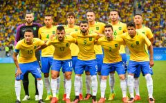 Brazil's men's Olympic soccer team took the gold in 2016