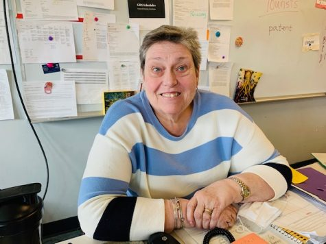 GHS will miss Donna Tarr who, after nearly 25 years of teaching, is retiring.