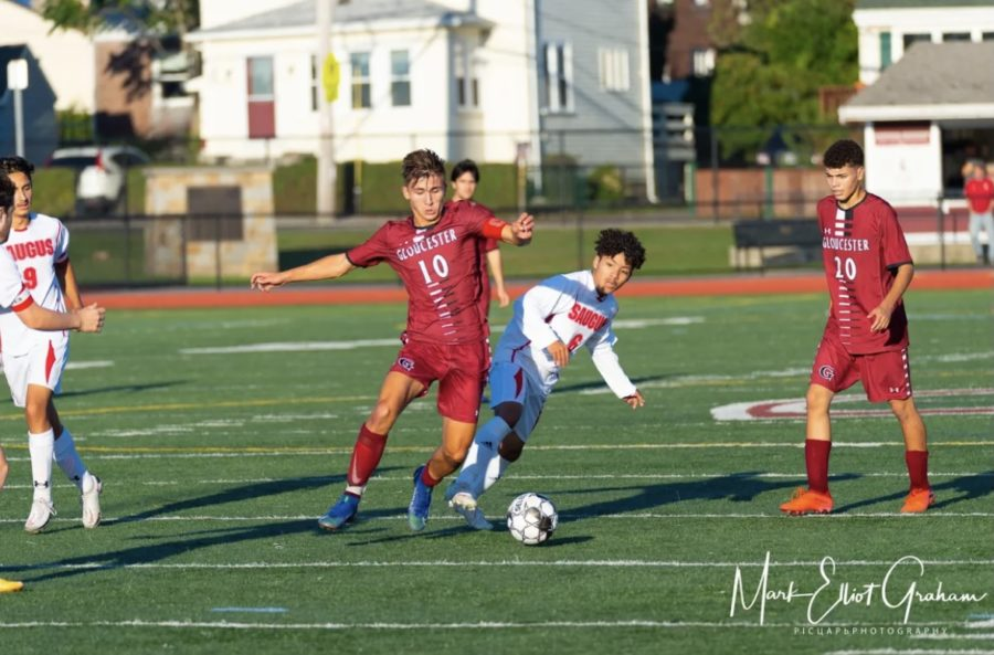 Team captain Andrew Coelho leads the NEC in scoring with 13 goals