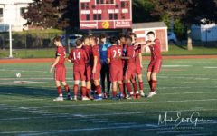 The GHS boys soccer team is undefeated in the NEC South and looks to clinch the title with a win in their game tonight against Winthrop at 4:30pm